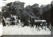 Maurice & Bob with tractors